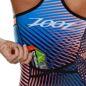 Zoot LTD Traje Triatlón Plus Mujer, azul/naranja